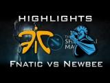 Fnatic vs Newbee - LB Shanghai Major Highlights Dota 2