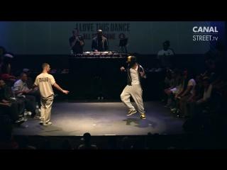 Dance battle- Majid vs Mamson - I Love This Dance 2012