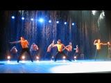 Театр танца Искушение. Шоу под дождем Между мной и тобой, финал.