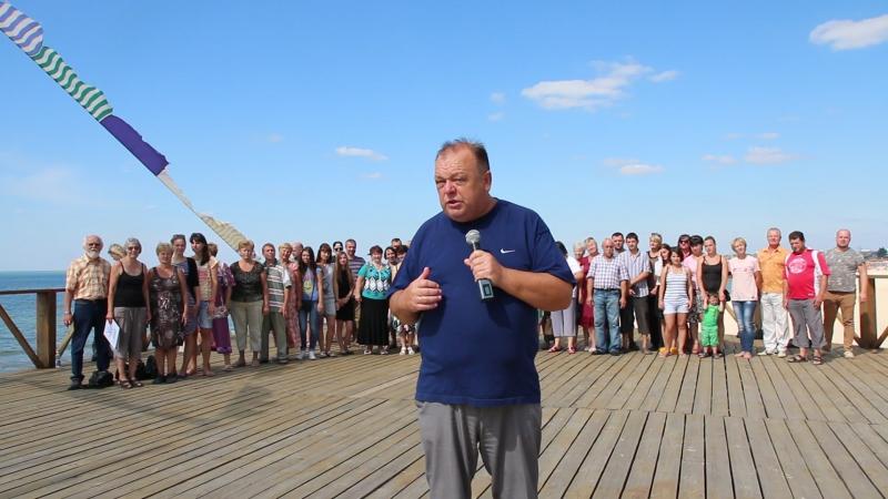 Конференція ДУХЦ Царство Боже в Україні в Бердянську в самому розпалі
