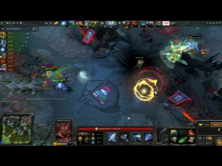 Final fight by Na'Vi vs LGD @ game2