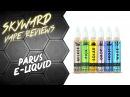 Обзор жидкости PARUS Информация о розыгрыше