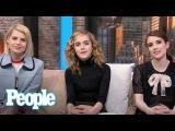Emma Roberts, Kiernan Shipka &amp Lucy Boynton On Beyonc