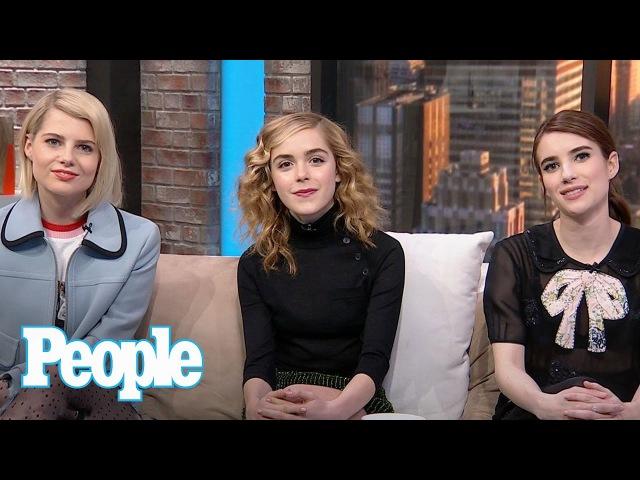 Emma Roberts, Kiernan Shipka Lucy Boynton On Beyoncé, Mindy Kaling More   People NOW   People