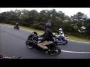 Hayabusa vs R1 (Darks Busa vs Fast R1)