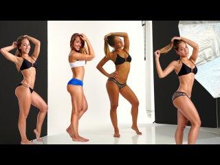 Bikini Model Transformation! Vicky Justiz Photo shoot.