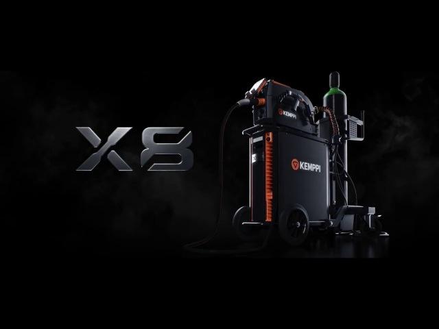 Kemppi X8 MIG Welder