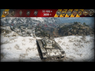 WoT M41 Walker Bulldog - 9 Kills - 5.4K Damage - Epic Battle