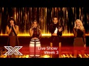 Four of Diamonds take on Who Are You in the sing off! | Results Show | The X Factor UK 2016