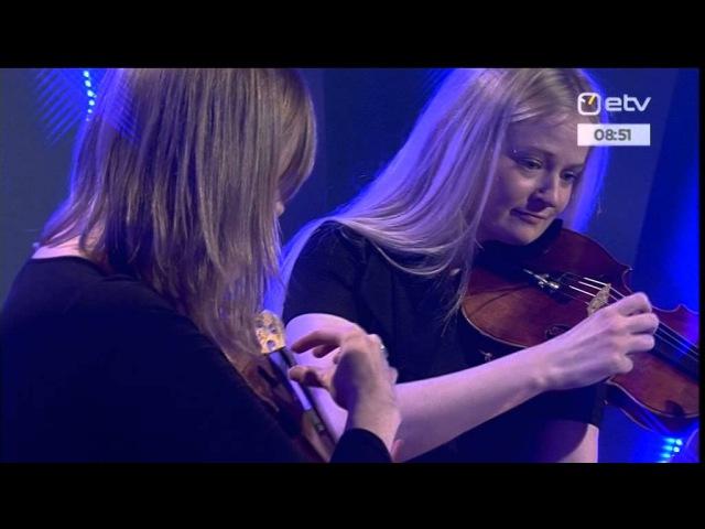 Triin Ruubel ja Juta Õunapuu-Mocanita - 7. prelüüdist kahele viiulile nr 6. ja nr 4. (M. Kuulberg)