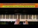Урок 1 Курс фортепиано для начинающих