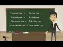 Урок французского языка 10 с нуля для начинающих: отрицательная форма во француз
