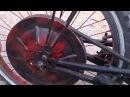 мопед из велосипеда и двигателя от бензопилы №1