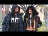 Kylie And Tyga Enjoy A Bit Of California Rain