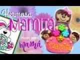Como hacer a una mamá de bombón - How to make a marshmallow mom