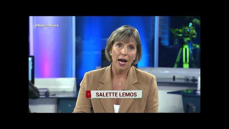 HD | Trechos do RedeTV News com Sallete Lemos e Boris Casoy - 04/11/2016