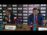 Послематчевая пресс конференция ХК ЦСКА ХК СКА 09 09 2016
