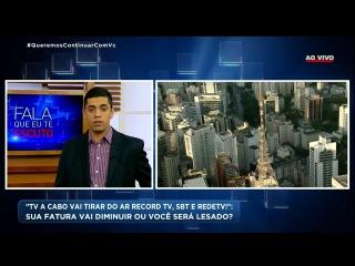 Barraco: mulher chama RecordTV de lixo e pastor PERDE O CONTROLE AO VIVO