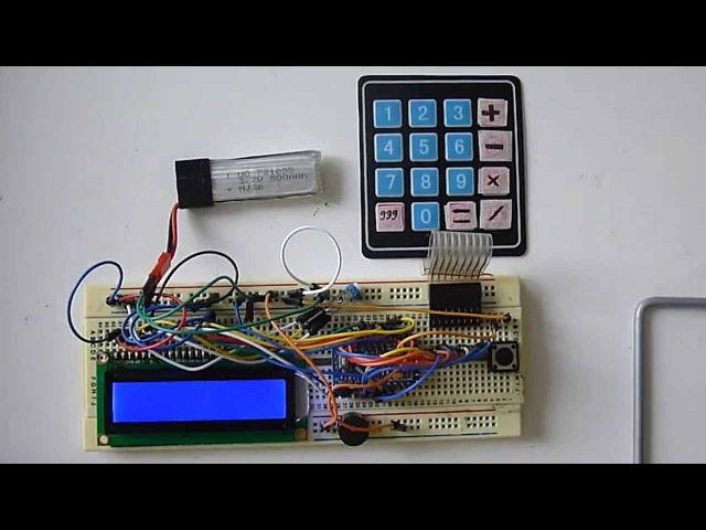 Arduino Keypad CALCULATOR LCD 16x2