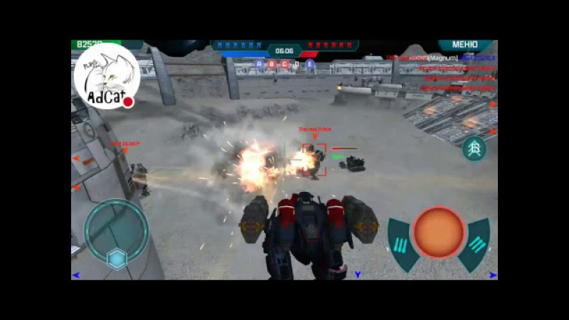 Стрим тестовой версии игры War Robots Test