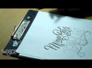 """Hand Lettering Tutorial, Step by step how to make writing """"Mimpi Akhir Tahun"""""""