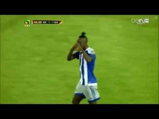 Côte d'Ivoire - Sierra Leone 1-1. Kei Kamara Goal. CAF Qualification 3/09/2016