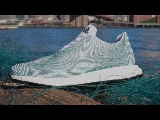 Adidas New Sneakers Made From Ocean Trash