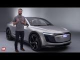 2017 Audi e-Tron Quattro Sportback Concept PRESENTATION  au doigt et
