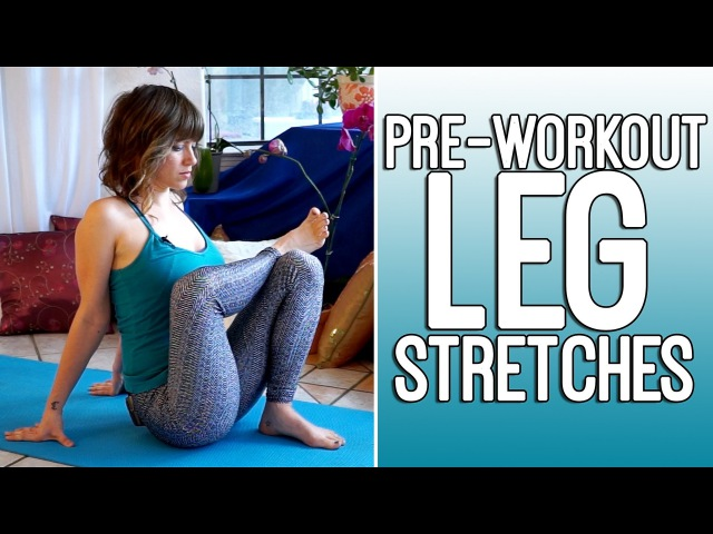 Pre Workout Flexibility Stretches for Runners Athletes Leg Exercise Routine