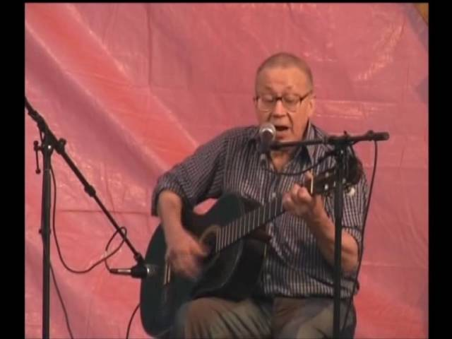 Виктор Луферов на Грушинском фестивале, 2007
