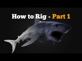 How to rig in Maya - Shark Part 1