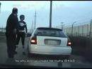 Police Pull Over Power Ranger