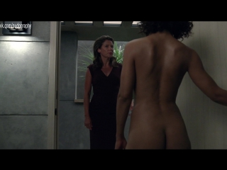 Протестировала робота - Голая Тесса Томпсон (Tessa Thompson) в сериале