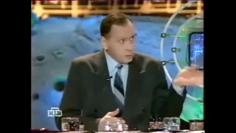 Диктор ЦТ СССР Юрий Ковеленов о ГКЧП в Старом телевизоре 1997 (Евгений Додолев