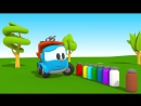 Грузовичок Лева Малыш и Пожарная Машина. НОВЫЙ мультик 3D Мультфильмы для детей