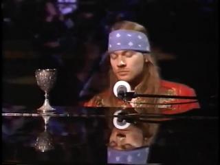 Guns N' Roses - November Rain - Live ᴴᴰ  ft. Elton John (MTV VMA) 1992