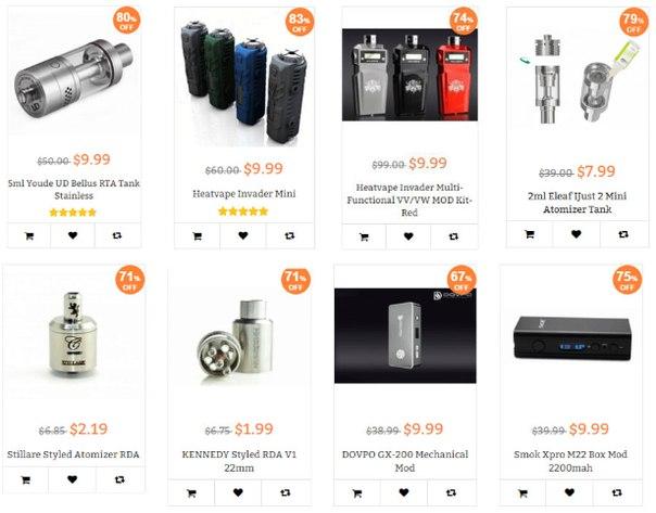 Двухдневная Flash-sale распродажа,товары по $9.99 082