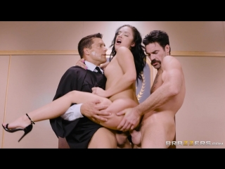 [brazzers] kristina rose - judge, jury, and double penetrator  [2017, anal, double penetration, latina, milf, 720p]