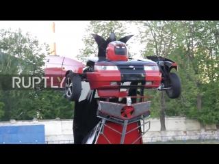 Это невероятно! Робот-трансформер из LADA 2110