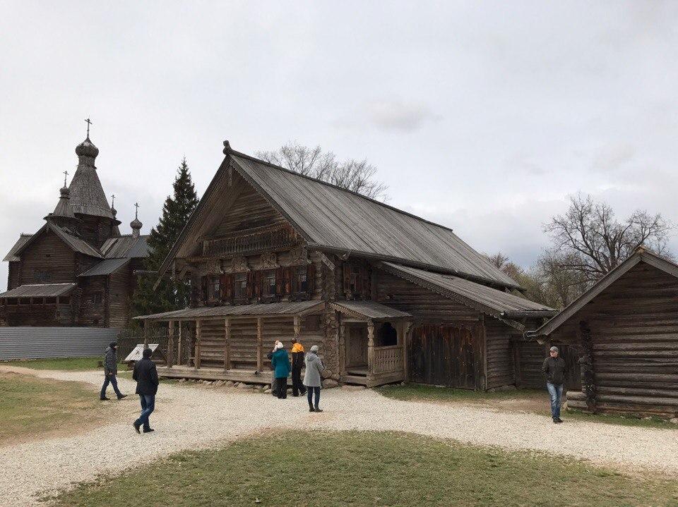 Музей Деревянного зодчества Витославлицы.