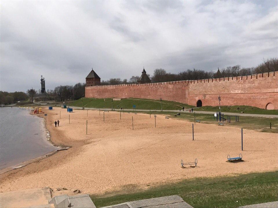 Кремль Великий Новгород. Детинец.
