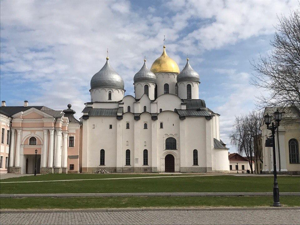 Софийский собор Великий Новгород.