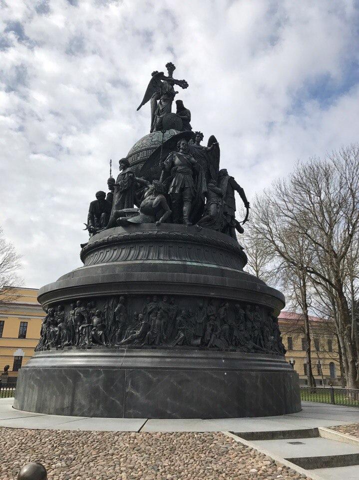 Памятник 1000-летию руси Великий Новгород