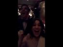 Mia Swiers snapchat video Reaction to Pasek Paul winning an Oscar
