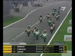 WSBK 2007 Round 6 - Monza. Race 1