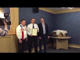 Награждение победителей Первенства Мира 2016 @ Lynx Club