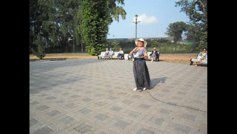 Балалайка - Тамара Котлакова. Субботний вечер в парке. 2.07.16г.