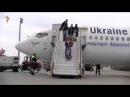 Camalə Ukraynada qəhrəman kimi qarşılanır VİDEO