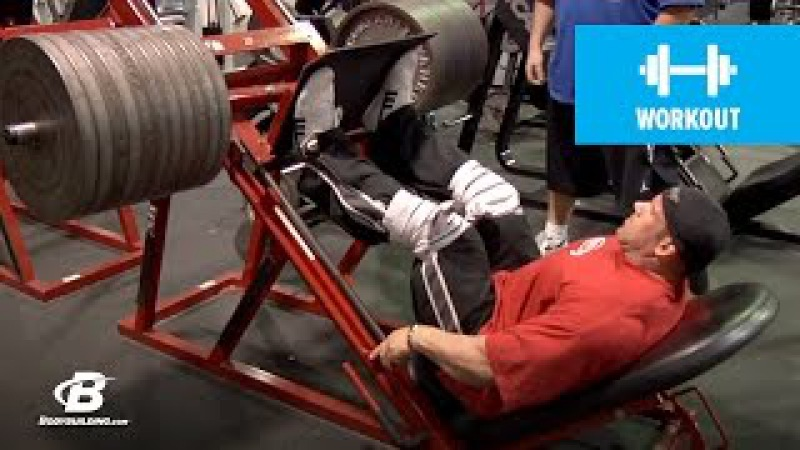 Jay Cutler's Mr. Olympia Leg Workout   2010 Road to the Olympia