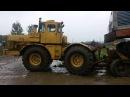 Трактор Кировец К-700А и Экскаватора ЭО-4124